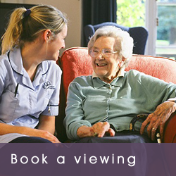 Book a care home viewing